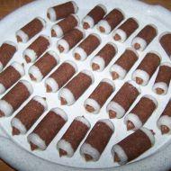 Nepečené ořechové trubičky tmavé recept