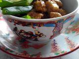 Kuřecí kung pao s rýží a salátem z pekingského zelí recept ...