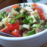 Vege salát s tofu recept