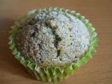 Muffiny s celým mákem a broskví recept