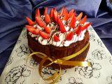 Roládový dort bez mouky, s jahodami ( přirozeně bez lepku) recept ...