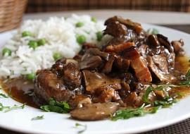 Hovězí nudličky s houbami  GlutenFree recept