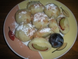 Švestkové knedlíky recept
