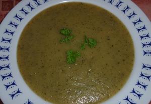 Bramborovo-cuketová polévka jednoduše a zdravě