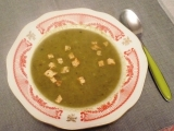 Polévka s droždím a se špenátem recept