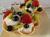 Jogurtová pěna s ovocem recept