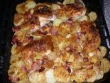 Kuře na zelí s anglickou slaninkou recept
