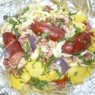 Zapékané brambory speciál recept
