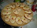 Jarní obložené chlebíčky recept