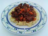 Hovězí ragú na liškách a kořenové zelenině recept