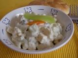 Hermelínový salát recept