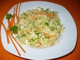 Pikantní zelný salát recept