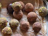 Čokoládovo  karamelové lanýže s rumem recept
