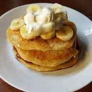 Vafle z ovesných vloček s banánem recept