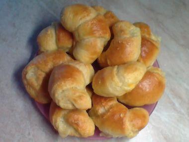 Sýrové croissanty z domácí pekárny