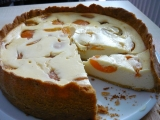 Tvarohový koláč s meruňkami recept