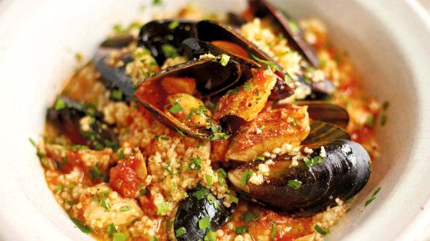 Sardinské těstoviny se slávkami