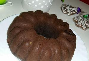 Zdravá kakaová vegan bábovka