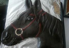 Hlava koně  dort č. 5 recept