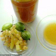 Angreštová marmeláda s ananasem recept
