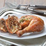 Kuře pečené s nádivkou recept