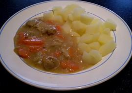 Dušená mrkev se sojovým masem  vegan recept