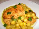 Kuře s cizrnou na kari recept