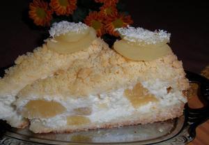 Piña Colada ananasovo-kokosové řezy (dort)