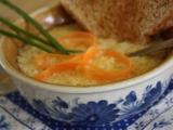 Krémová česnečka s toasty recept