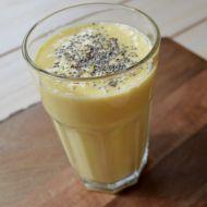 Mango smoothie s mandlovým mlékem recept