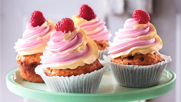 Mramorové cupcakes