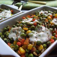 Zapékané zeleninové misky recept