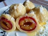 Ovocné knedlíky z tvarohového těsta recept
