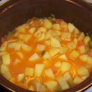 Zeleninovo-bramborový paprikáš recept