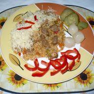 Vepřové rizoto s Moravankou recept