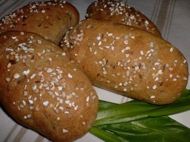 Chlebové dalamánky s pohankou