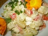 Odlehčený bramborový salát recept