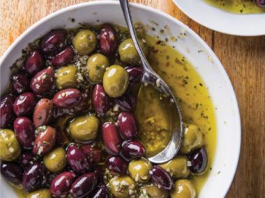 Marinované olivy 2
