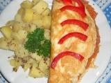 Omeleta s cuketovou náplní recept