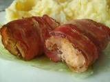 Krůtí masíčko v kabátku z anglické slaniny recept