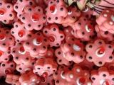 Barevné pudinkové kytičky recept