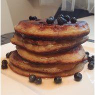 Borůvkové pancakes recept