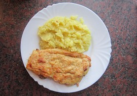 Kuřecí řízek se slaninou, šunkou a sýrem recept