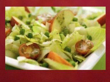 Večeře 23  Čekankový salát