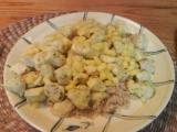 Žluté kuře recept