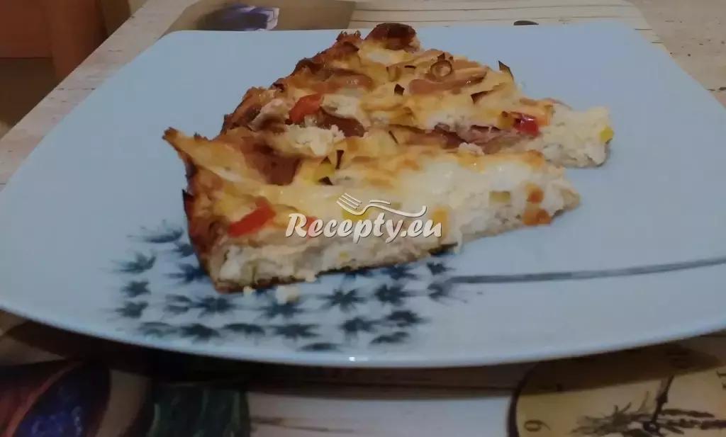 Babiččin cibulový koláč recept  předkrmy, snídaně