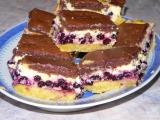 Tvarohový koláč z dvojího těsta recept
