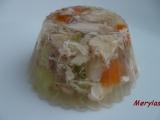 Aspik z kuřecího masa se zeleninou recept