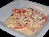Rajčatový salát s majolkou recept