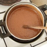 Čokoládová pěna recept